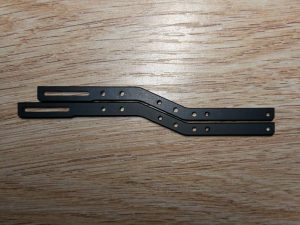 AU2204-02 Rear Chassis Rails Std