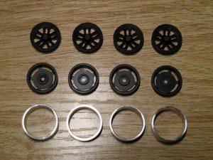 Aluminium Beadlock Wheels 'A' Black (BL-A)