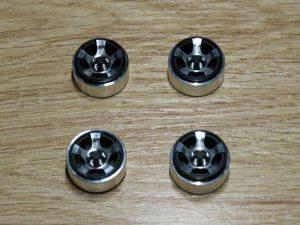 Aluminium Beadlock Wheels 'B' Silver-Black