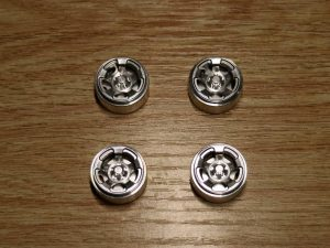 Aluminium Beadlock Wheels 'B' Chrome (briSI-B)