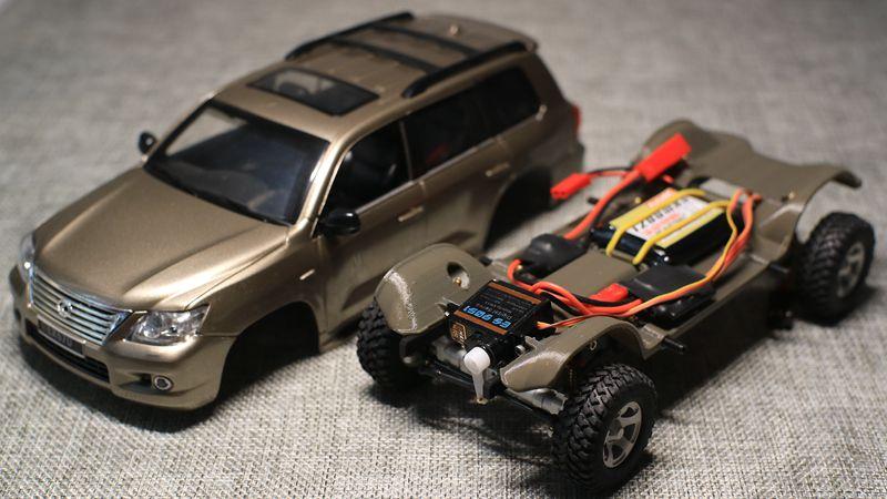 Geko GK-24 ARTR: 1/24 Lexus LX570