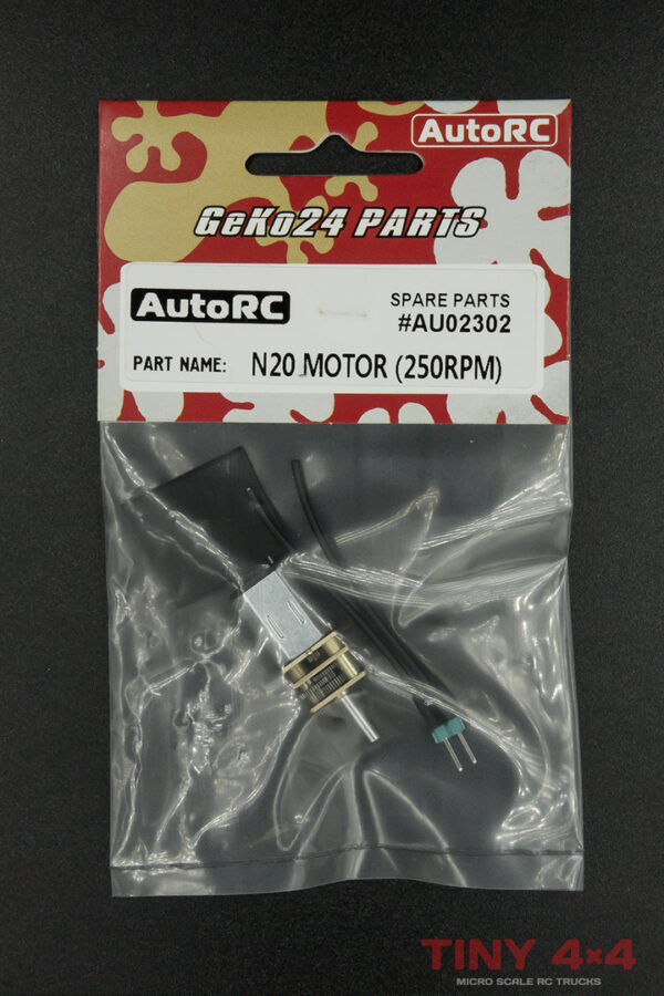N20 Geared Motor for Geko24