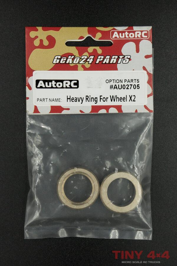 Geko24 Brass Ring Wheel Weights