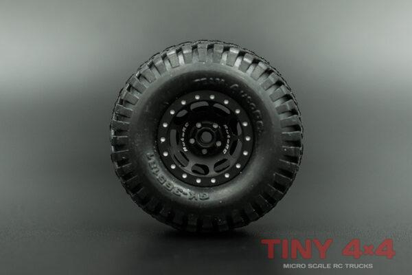 Geko24 Alloy Beadlock GK-9P18B Wheels