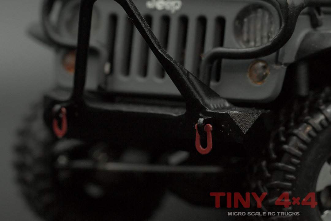 Metal Tow Shackles for Orlandoo Hunter Jeep, OH35A01