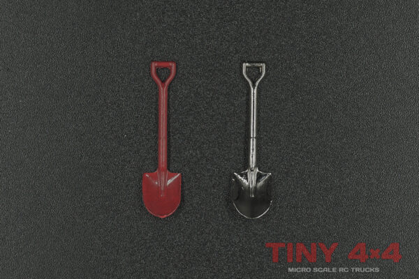 Metal Shovel for 1/35 or 1/32 Micro RC's