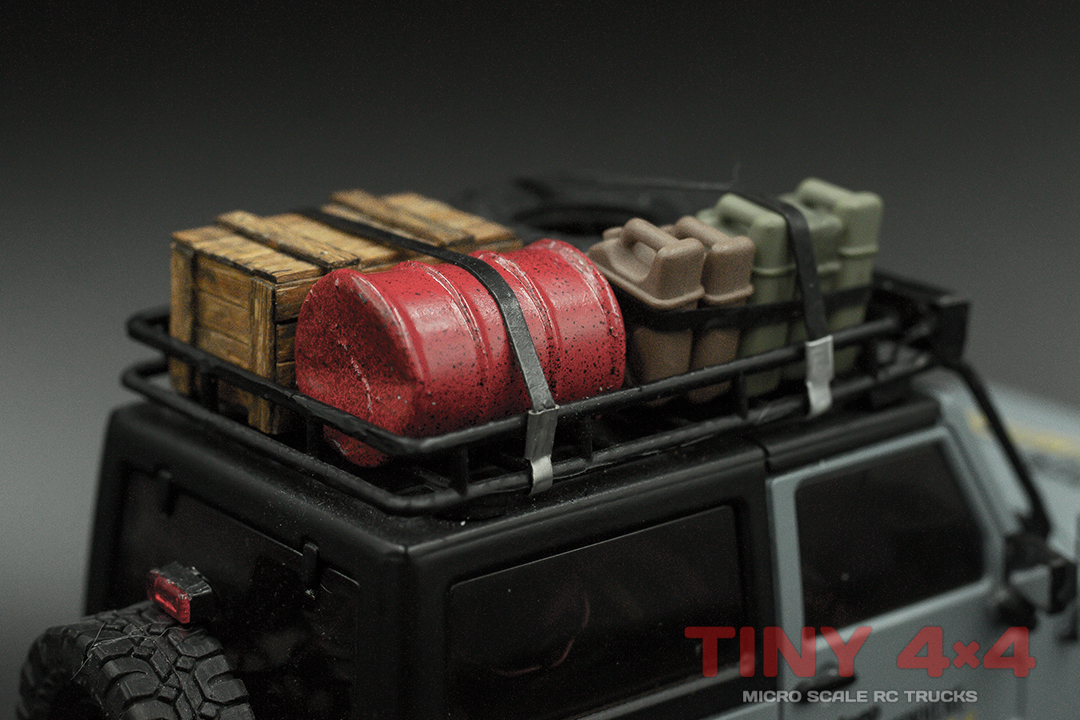 Scale Cargo Straps for 1/32 and 1/35 Micro RC's