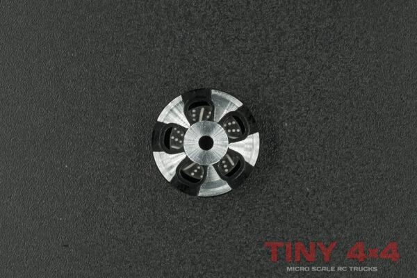 5-Spoke Alloy Wheel with Brake Disc