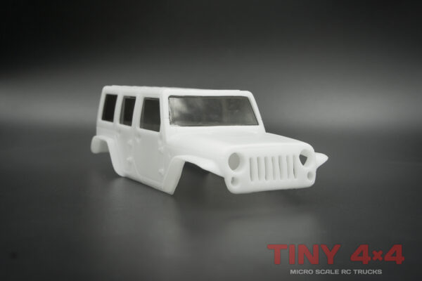Jeep Wrangler Unlimited Body Set for Orlandoo Hunter
