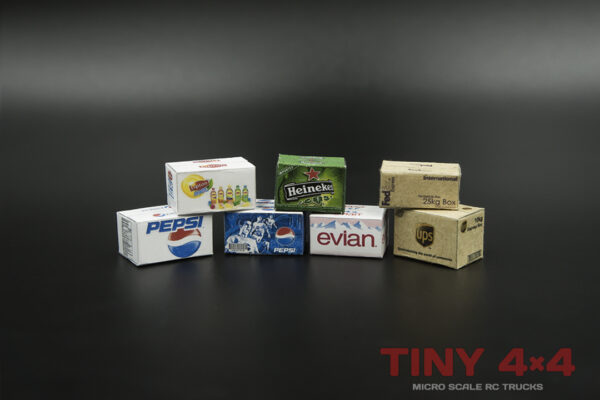 Scale boxes for 1/32 and 1/35 Micro RCs