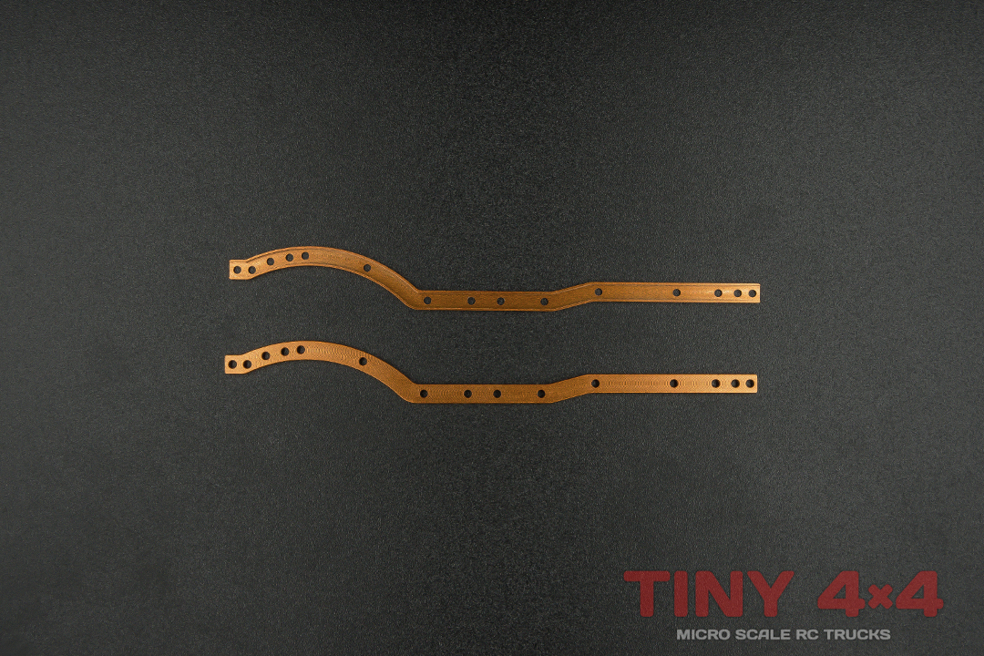 Alloy Chassis Rails for Orlandoo Hunter A01 Jeep