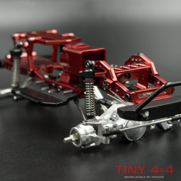Full Metal Orlandoo Hunter A01 Chassis (Red/Black)