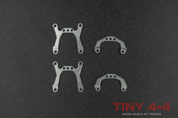 Alloy Shock Towers for Orlandoo Hunter A01, A02 and A03