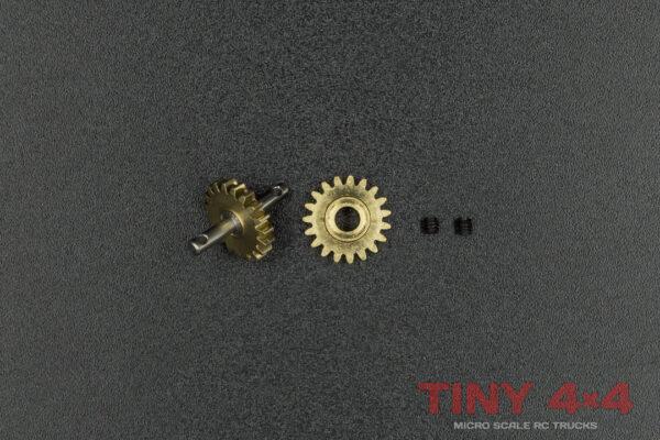 TA0023 Transfer Gear Set for Orlandoo 'A' Gearbox (DooRok)