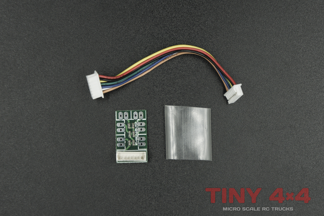 D401E Light Expansion Board DS001 for D4L 2.4GHz Radio System