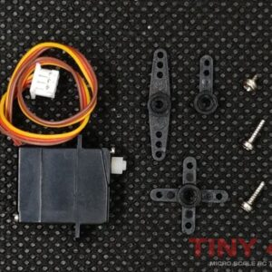 1.7g Low Voltage Servo for 1/87 Micro RC Cars