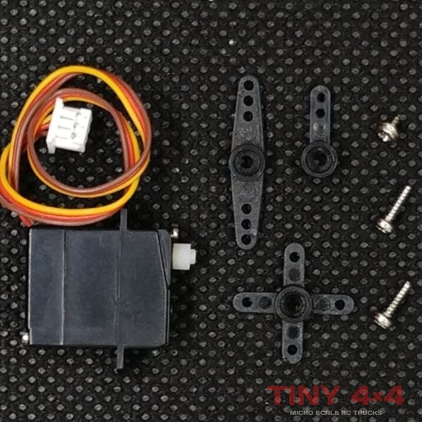 1.7g Low Voltag Servo for 1/87 Micro RC Cars
