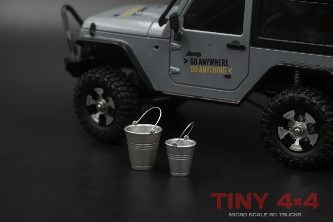 Buckets for 1/32 1/35 and 1/24