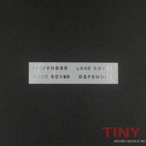 1/32 Landrover Defender Logo Decals for Orlandoo Hunter