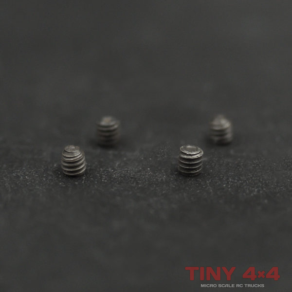 Grub Screw Set (4) for Orlandoo Hunter