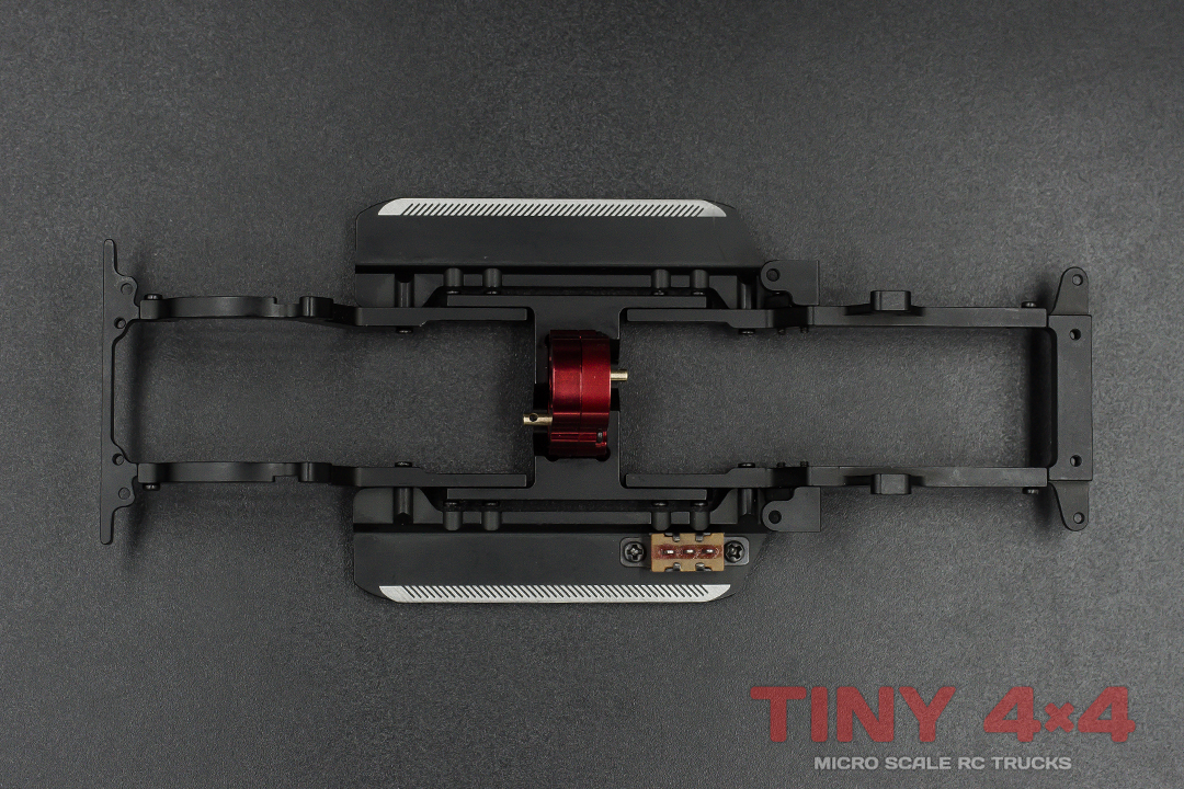 Alloy Chassis Set for Orlandoo Hunter P01 F150