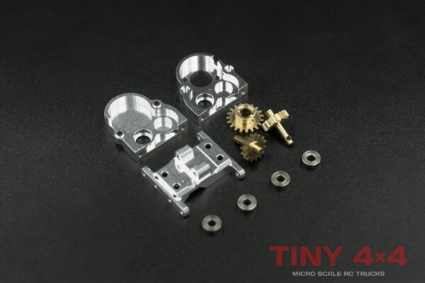 Alloy Reverse Transfer Gearbox for Orlandoo Hunter 'A' Chassis