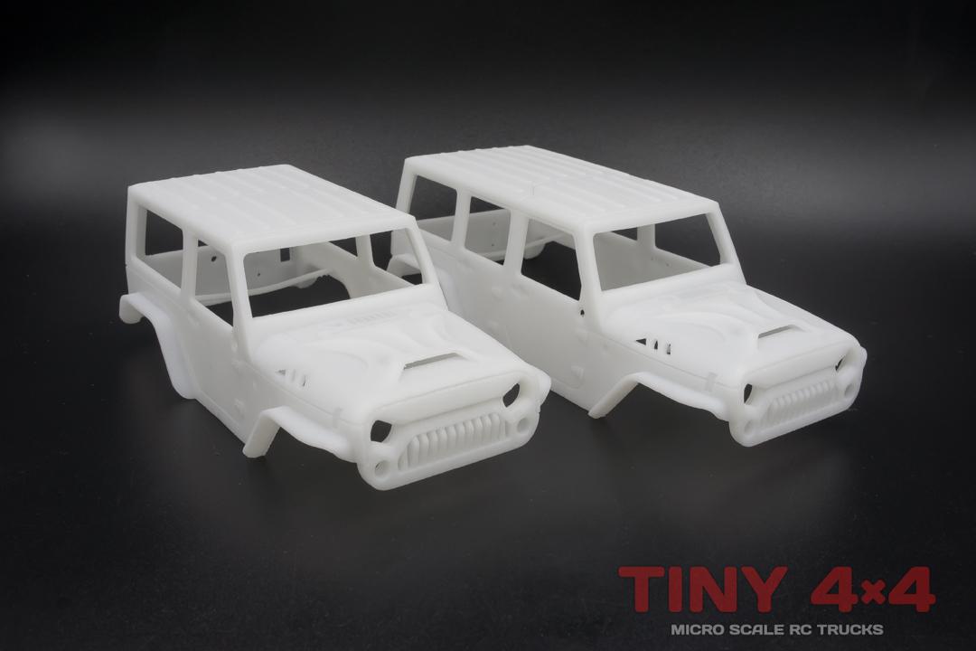 Angry Jeep Wrangler Body Sets for Orlandoo Hunter