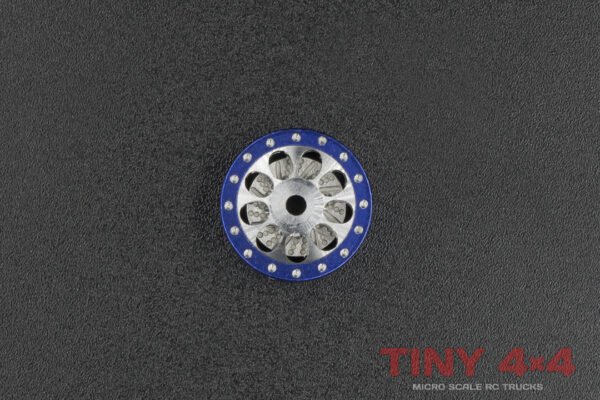 Fake Beadlock 9 Hole Single Alloy Wheel