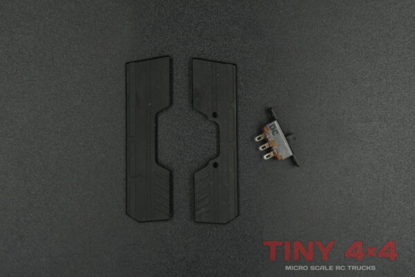 Alloy Floor Panels for Orlandoo OH32A02 Chassis