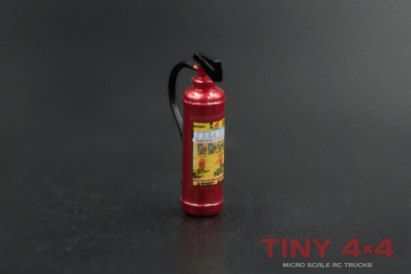Detailed Fire Extinguisher for 1/32 and 1/35 Micro RCs
