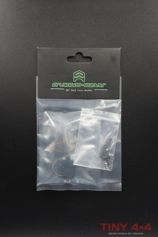 AS0017 Orlandoo 1.7g Low Voltage Micro Servo