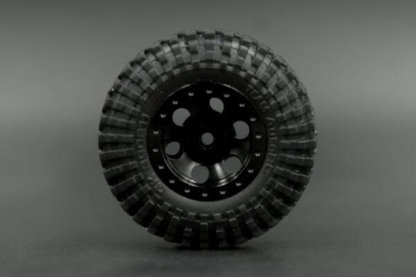 Geko24 Alloy Beadlock GK-6C21B Wheels