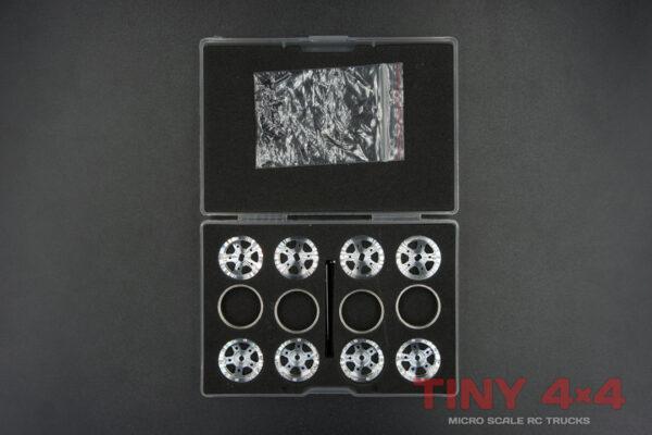 Premium CNC Alloy Beadlock 18mm Wheels