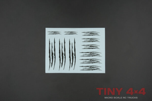 1/35 1/32 Stripes Monster Claws Decals for Orlandoo Hunter