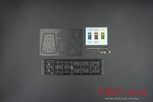 MX0036 1/32 Etched Floor Jacks