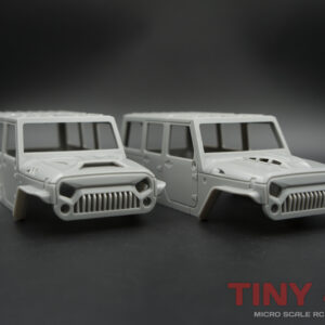 4-Door Jeep Wrangler Unlimited Body Sets for Orlandoo Hunter