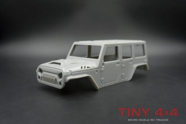 4-Door Jeep Wrangler Unlimited Body Sets for Orlandoo Hunter
